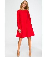 2e0f1ef54375 Červené šaty Style 137
