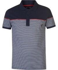 b09cf4c72c22 VOI Striped Polo Shirt pánské Navy Red