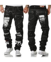 KOSMO LUPO kalhoty pánské KM159 jeans džíny 3af28eb7b5