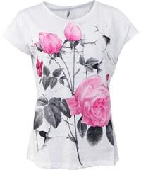 NAMSO tričko dámské nadměrná velikost květiny a8f6ad4068