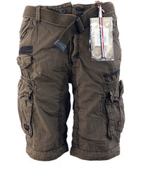 f9e2d44d1fa GEOGRAPHICAL NORWAY kalhoty pánské PANORAMIQUE MEN BASIC 063 bermudy kapsáče
