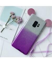 Trendypláza 3D Mickey egér csillámló szilikontok Samsung Galaxy S9 eedcfaf938