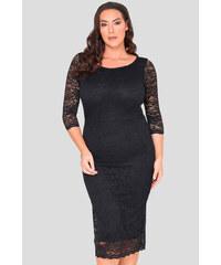 2fb1cc351c98 Bellazu GB Krajkové šaty After-Dark pouzdrového střihu černé