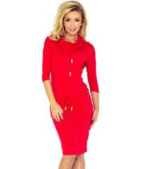 bfd99474a961 Numoco Dámske šaty 44-13 - červené