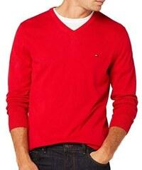 c3fb3f3af0a Tommy Hilfiger Pánský červený svetr Tommy Hilfiger 9741