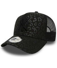 09ecd3f05 Dámska šiltovka New Era 9Forty Womens A Frame Trucker Leopard NY Yankees  Black