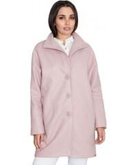 Figl Dámský kabát FIGL Kendy růžový - růžová 3af7a9eeca0