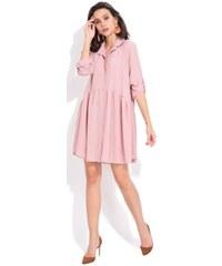 FILLE DU COUTURIER dámské šaty Oriane 38 růžová 89cc065de8