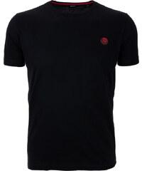 Pánské černé tričko s nášivkou Diesel 75da2d3eaa