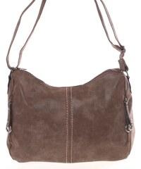 Väčšia dámska mäkká hnedá kabelka - Piace Molto Leontina hnedá fa99c8002e9
