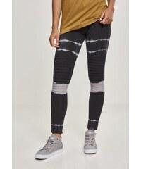 Dámske legíny URBAN CLASSICS Ladies Striped Tie Dye Biker Leggings 530234a59c2