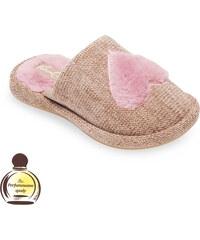 d0ffd5a0656c Dámske papuče Natural Style NS239 hnedá 38
