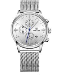 4cdc09a0b6c Weide Pánské kovové hodinky Wrench stříbrné