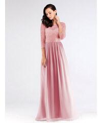 c437434a45e9 Ever Pretty Luxusní růžové šaty s krajkou 7680. 1 490 Kč