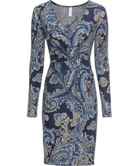 bonprix Zavinovací šaty s kašmírovým vzorem 4d0757d433
