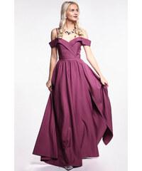 EMO Fialové plesové šaty c82cfcc8b60