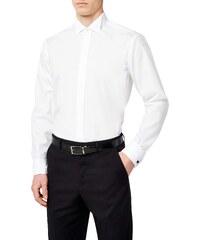 4f59e08cb09 Seidensticker - Chemise business - Col chemise classique - Manches longues  Homme - Blanc - Weiß