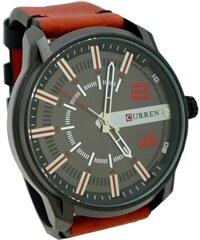 Pánské hodinky Curren Direct červené 368P 97827d0f42