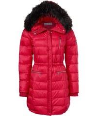 heine TIMELESS Kabát s odepínací kapucí červená 89a6154fd9
