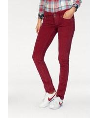 Pepe Jeans Nohavice 5-vreckového štýlu »VERA« bordová 4eae47759a