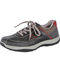 Šnurovacia obuv Rieker šedá-kombi c056f9d403b