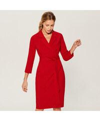 2beed6d25749 Mohito - Elegantné košeľové šaty - Červená