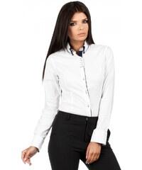 Moe Dámská košile Moe Rita bílá - bílá d0e5edd9ece