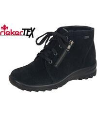 41b726bbf2 Čierne šnurovacie zateplené topánky Rieker