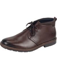 50bbd5a4411b Tmavohnedá zateplená topánka na šnurovanie značky Rieker