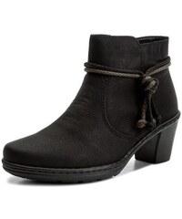 9be709c1463b Dámska čierna členková obuv značky Rieker