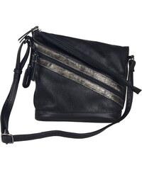 9fe184e1e1 Dámska kabelka cez telo (crossby) čierna značky Rieker
