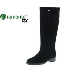 af139de4b85b9 Remonte - Rieker Dámska čižma vysoká zateplená na nízkom podpätku