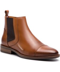 06542751887e9 Čižmy TOMMY HILFIGER - Essential Leather Toecap Chelsea FM0FM02140 Winter  Cognac 906