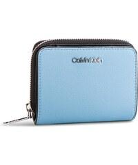 Kis női pénztárca CALVIN KLEIN - Stitch Med Zip W Flap K60K604857 460 91346d0132
