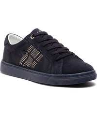 TOMMY HILFIGER Sparkle Satin Essential Sneaker FW0FW03694 8f8ce53d7a