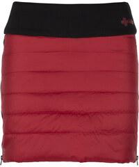 973481addebd KILPI Dámska zateplená sukňa MATIRA-W JL0014KIRED Červená 34
