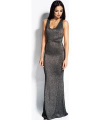 d7a9b5f3867e Dursi dlouhé šaty MM-76399 šedá