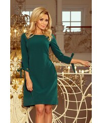14ee7b2e0edc Numoco společenské šaty MM-116212 zelená