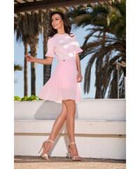 8fce5dc3a576 Lemoniade společenské šaty MM-117542 růžová