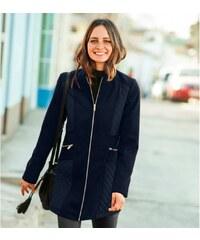 Blancheporte Prešívaný kabát v členitom strihu nám.modrá e6b451720fc