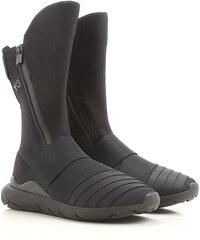 2b35306076 Y3 by Yohji Yamamoto Vysoké boty pro ženy Ve výprodeji