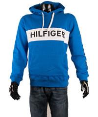 Pánská mikina Tommy Hilfiger Denim s kapucí - modrá 2c2a80b751b