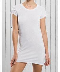 c566c9a34cc JHK Lehké krátké polyesterové šaty s rukávky