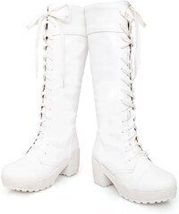 Biele Dámske čižmy a členkové topánky z obchodu PerfectDress.eu ... ee19aa34537