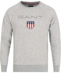 Pánská mikina Gant - šedá 55621905bd
