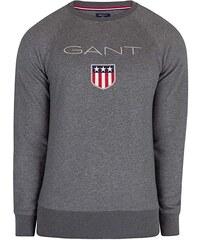 dee656235978 Pánská mikina Gant - tmavě šedá