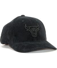 the best attitude da541 083f6 Kšiltovka Mitchell   Ness Chicago Bulls Cord Black Snapback