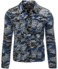 Manstyle Pánská stylová jeansová (džínová) bunda 2176d0ba47f