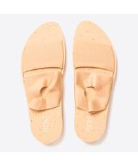 47e24512b1b6 PLOVE Zlaté sandály - dvojdílné