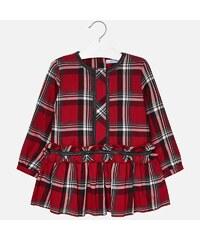 fbbb569b193f Dievčenské šaty kockované MAYORAL 4962-010 red